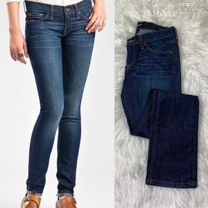 Lucky Brand Charlie Straight Jeans 25 Ankle Crop